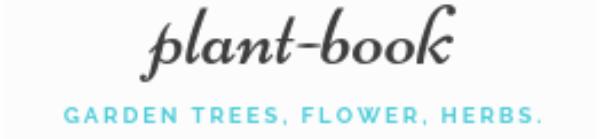 植物図鑑プラントブック-庭木、観葉植物、花の育て方